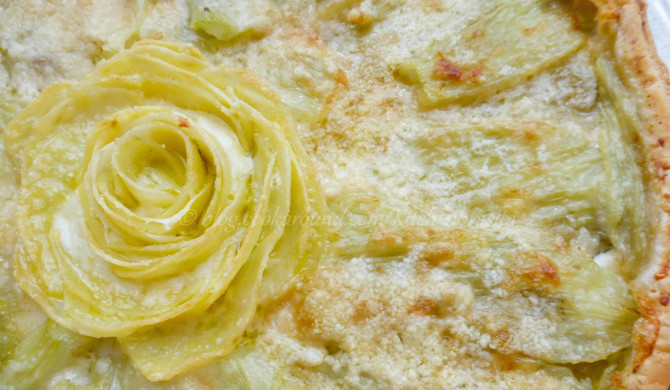 Recipe fennel rustic pie